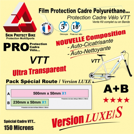 Film Protection cadre VTT Polyuréthane Luxe S