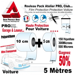 Film Protection PRO Protection Voiture 300 Microns Pack Atelier