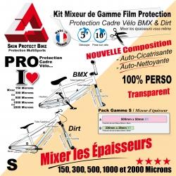 Protection cadre  BMX Dirt Mixeur de Gamme S personnalisable