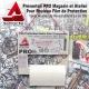 Présentoir PRO Rouleau Film de Protection cadre Vélo Magasin Atelier