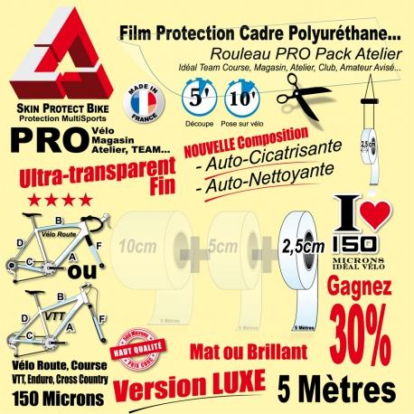 Rouleau Film Protection cadre Vélo Polyuréthane PRO Auto cicatrisant