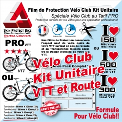 Film Protection Cadre Vélo Route Et Course Skin Protect Bike Film