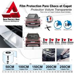 film de protection pare chocs capot voiture bouclier vtt. Black Bedroom Furniture Sets. Home Design Ideas