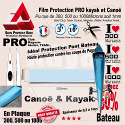 Plaque Film Protection Transparent Kayak Protection Coque