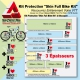 Kit Film Protection cadre VTT Complet Skin Full Bike Kit