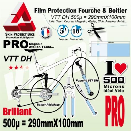 Film de Protection Fourche DH et Boitier Pédalier