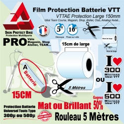 Rouleau Film Protection Batterie VTT PRO 15cm