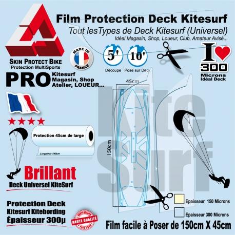Film Protection transparent Deck Kitesurf Universel