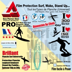 Film Protection Planche Surf  deck Wake Stand Up WinSurf Universel