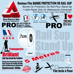 Rouleau Film Bande Protection de Rail Sup Saver Paddle PRO 5 mètres