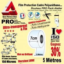 Rouleau Film Protection PRO cadre Polyuréthane Auto cicatrisant