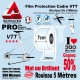 Rouleau Film Protection cadre VTT 300 Microns 7cm en rouleau PRO Mat ou Brillant