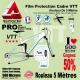 Rouleau Film Protection cadre VTT 500 Microns 7cm en rouleau PRO Brillant