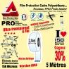 Rouleau Film Protection cadre Vélo 150 Polyuréthane 2,5cm Pro Atelier Mat ou Brillant