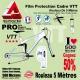 Rouleau Film Protection cadre VTT 500 Microns 2,5cm en rouleau PRO Brillant