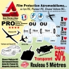 Film Protection Transparent Aéromodélisme Planeur RC Avion RC Voiture RC
