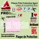 Plaque Film protection 60cm 150 300 ou 500 microns VTT