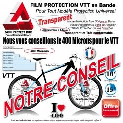 Notre Conseil Bande Film de Protection VTT Universel 400 Microns