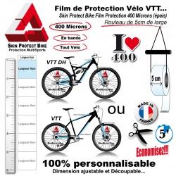 Film de Protection unitaire 400 Microns 5cm de large économique