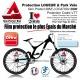 Location Vélo Film Protection 2000 microns épais en Bande