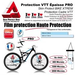 Film de Protection VTT épaisse PRO au choix en Bande