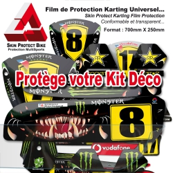 Film de Protection Karting Universel