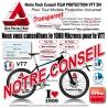 Notre Conseil PACK Film de Protection VTT DH Universel 1000 Microns