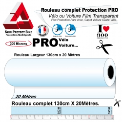 Film de Protection PRO Grand Rouleau complet 300 microns Vélo