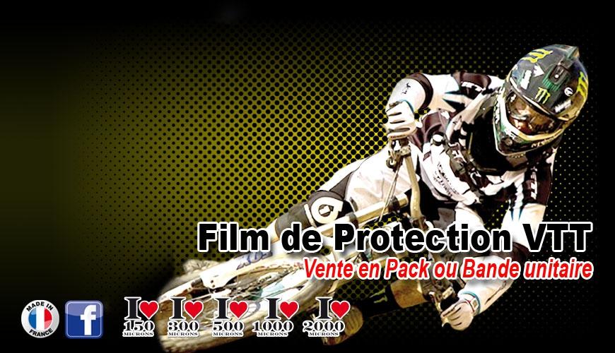 Film de Protection VTT fine ou épaisse vene unitaire possible