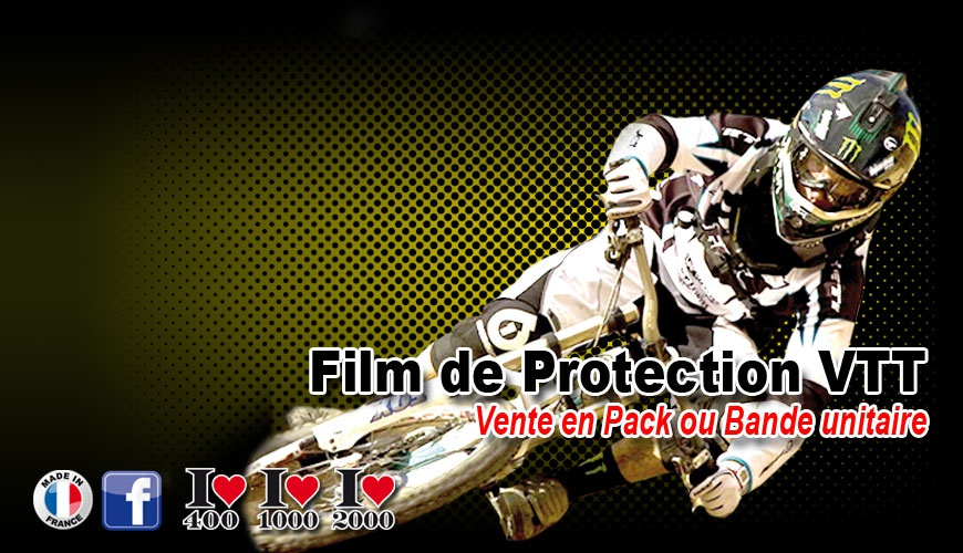 Film de Protection VTT fine ou épaisse vete unitaire possible
