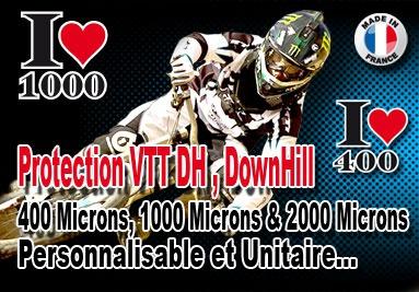 Film protection Vélo VTT DH Downhill