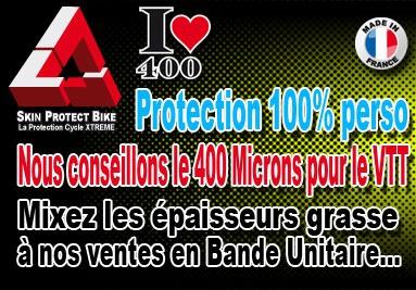 Notre Conseil Film de Protection en VTT 400 Microns