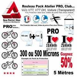 Pack Atelier Film Protection PRO VTT 300 Microns