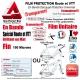 Film Protection cadre Vélo Route VTT Standard Universel Bande Découpe