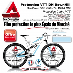 Film de Protection Boitier Pédalage VTT DownHill XTREM DH cadre VTT