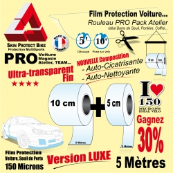 Rouleau Film Protection Voiture PRO Auto cicatrisant