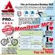 Film Protection Moniteur MCF cadre VTT ou vélo route