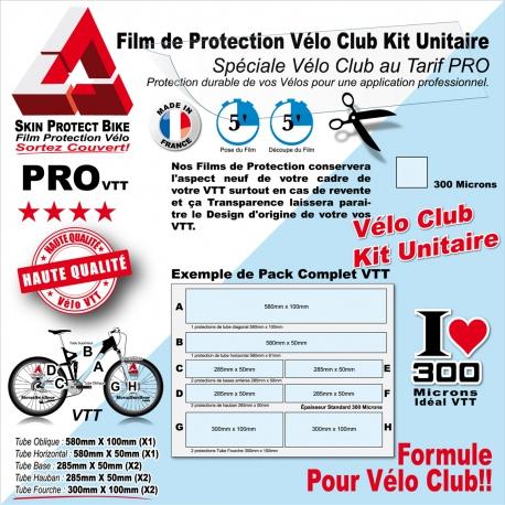 Film Protection Vélo Club protection cadre unitaire
