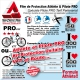 Film Protection Vélo Athlète Cycliste et Vététiste