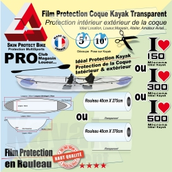 Rouleau Film Protection Kayak  Coque Transparent  Protection Coque