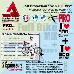 Kit Film Protection cadre VTT Complet 2 épaisseurs