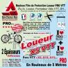 Rouleau Film Protection VTT Loueur Éducateur École Stage