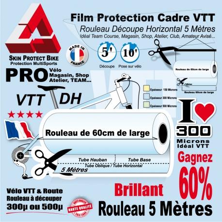 Rouleau Film Protection VTT PRO 60cm découpe horizontale