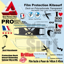 Film Protection transparent Deck Kitesurf polycarbonate INOBO