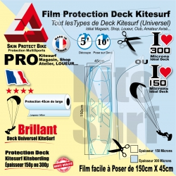 Film Protection transparent Deck Kitesurf Universel