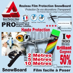 Film Protection PRO SnowBoard 300 Microns Pack Atelier
