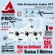 Rouleau Film Protection VTT PRO 300 Microns en rouleau mat ou brillant