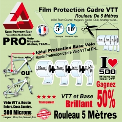 Rouleau Film Protection VTT PRO 500 Microns Pack Atelier