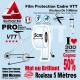 Rouleau Film Protection cadre VTT 300 Microns 5cm en rouleau PRO mat ou brillant