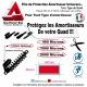 Film de Protection Amortisseur Quad (140mm X 60mm) Skin Protect Amortisseur